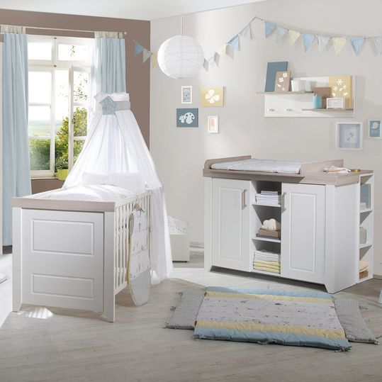 Economy set children's room Felicia with bed and changing table