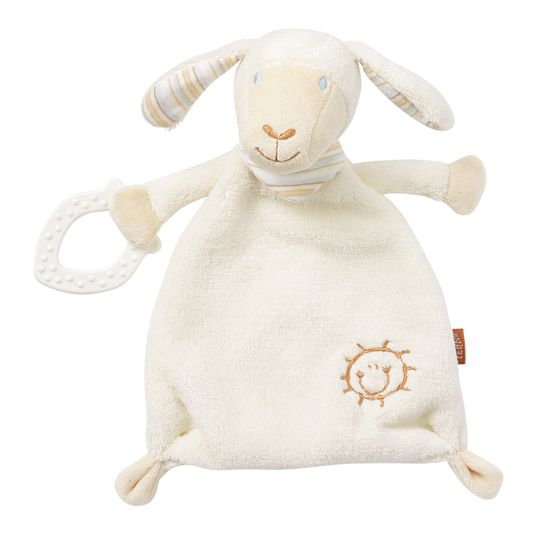 Cuddle cloth with bite element Sheep - Baby Love