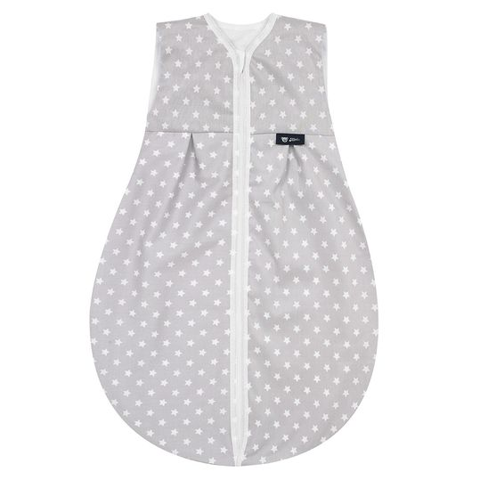 Cotton sleeping bag Thermo - Stars Silver - Size 70 cm