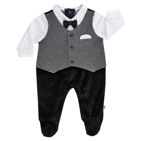 Nicki Overall - Classic Black Grey White - Size 56