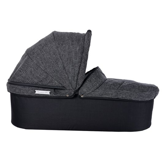 Twin Premium baby bath incl. adapter - anthracite