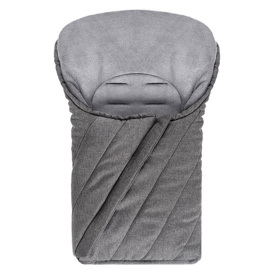Deluxe Winter Footmuff for Baby Car seat (Maxi-Cosi) - Melange Grey