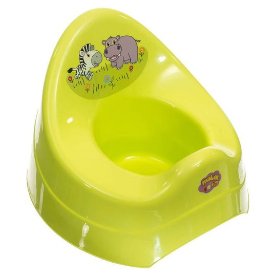 Potty with music - Zoo Green