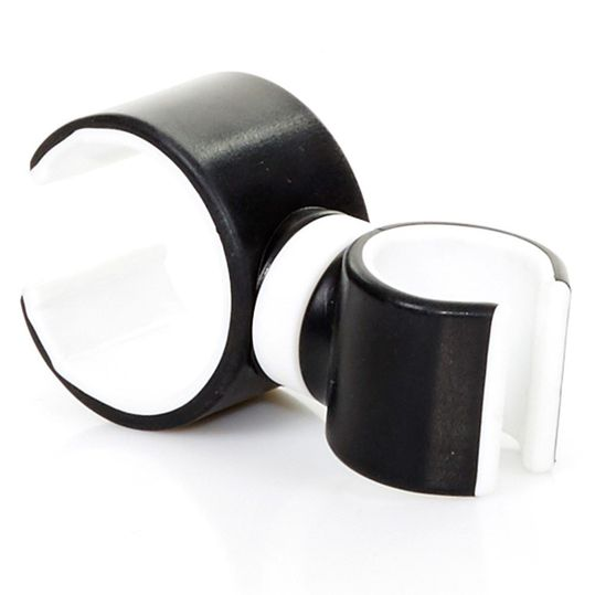 Universal mobile phone holder - White-Black