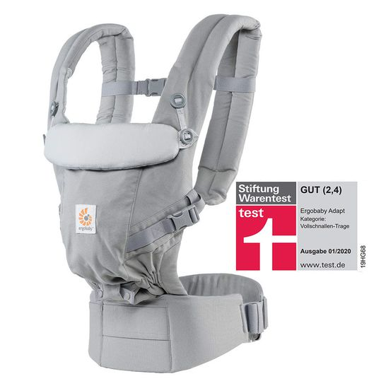 Baby carrier Adapt - Pearl Grey