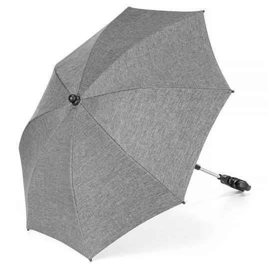 Universal parasol for stroller / buggy (UV protection 50+) Melange Grey