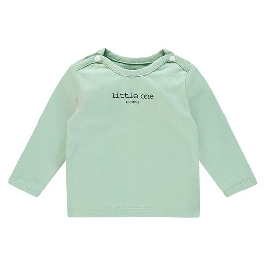 Langarmshirt Little One - Mint - Gr. 68