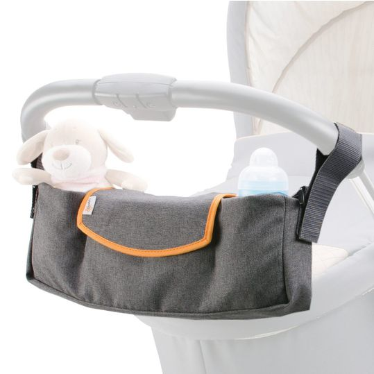 Kinderwagen-Organizer - Grau Orange