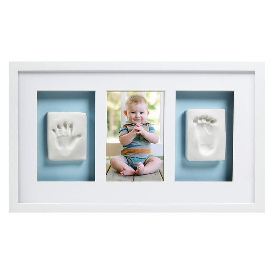 Frame for photo & 2 prints - Deluxe Wall Frame - White