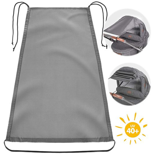 Universal awning for prams and buggies - anthracite