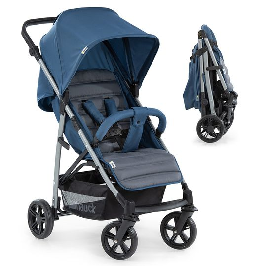 Buggy Rapid 4 (bis 25 kg) - Denim Grey