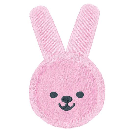 Mundpflege-Fingerling Oral Care Rabbit - Rosa