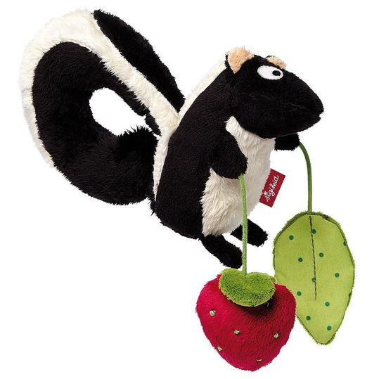 Pendant for baby car seat - Skunk