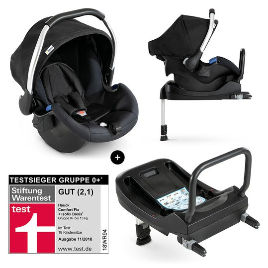 Babyschale Comfort Fix Set - inkl. Isofix-Base