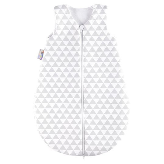 Sleeping bag Jersey padded - Ornament White Grey - Gr. 62