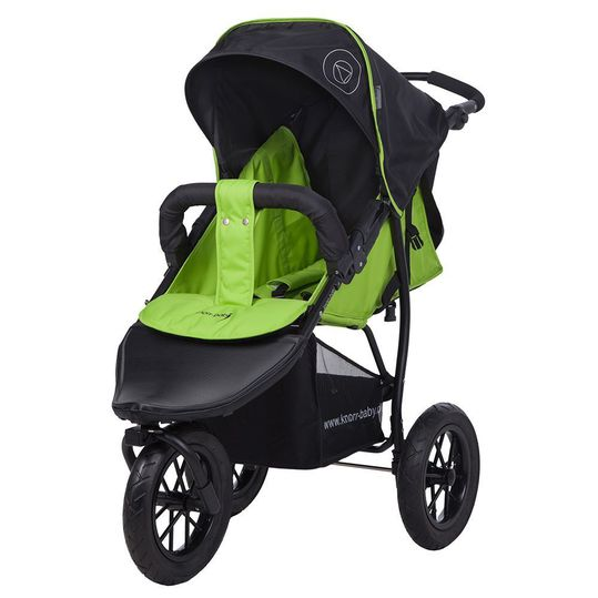 Sports car Joggy S with slumber top - Happy Color - Green