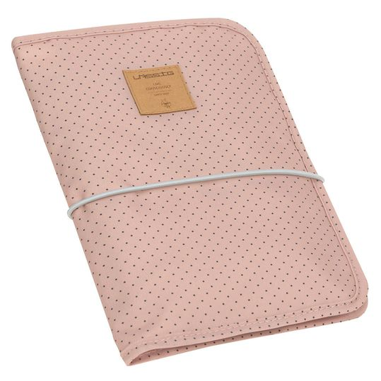Wickel-Kit für Unterwegs Casual Changing Pouch - Dots Rose