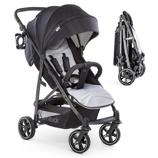 Buggy Rapid 4S (up to 25 kg) - Caviar Silver