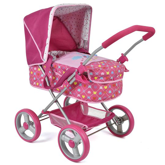 Doll's pram with carrying bag Gini - Birdie