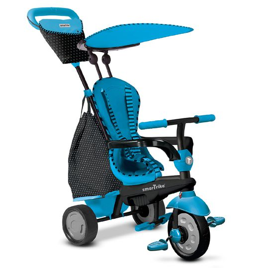 Tricycle Glow 4 in 1 with Touch Steering - Blue
