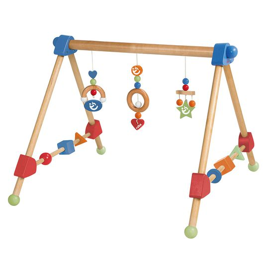 Play Trapeze Gym made of wood height adjustable
