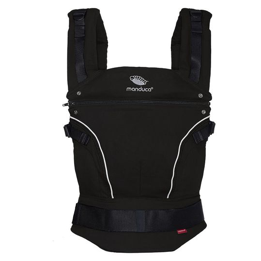 Baby carrier Pure Cotton - Night Black