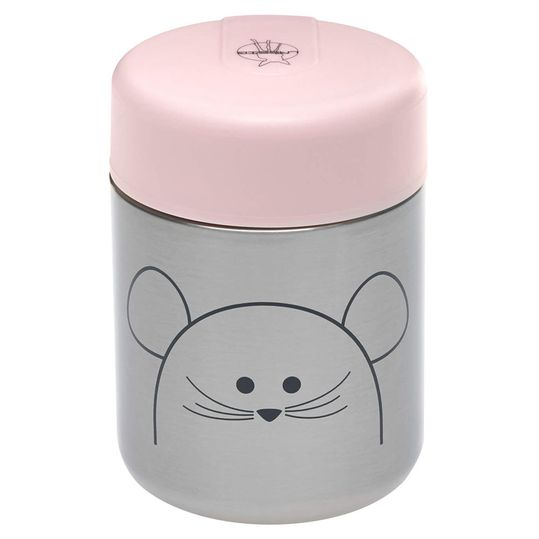 Edelstahl-Thermobehälter Food Jar - Little Chums Mouse