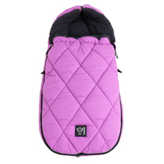 Thermo-Sherpa-Fleece Fußsack XL Too - Violet