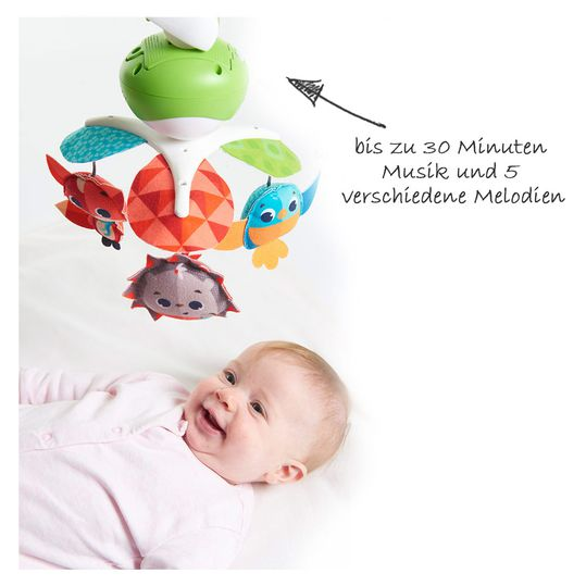 Tiny Love Classic Mobile Into the Forest Babys erstes Mobile 0M 3 Melodien