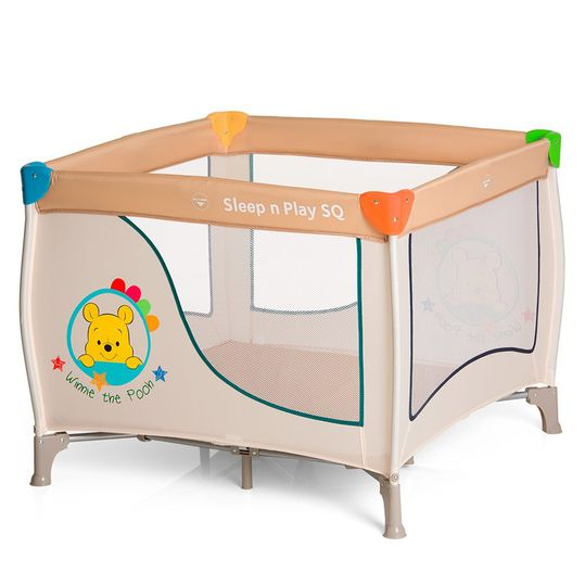 Travel bed & playpen Sleep'n Play SQ - Disney - Pooh Ready to Play