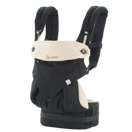 360° baby carrier for 4 carrying positions - Black Camel