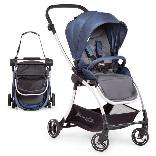 Buggy & Sportwagen Eagle 4S (bis 25 kg belastbar) - Denim Grey