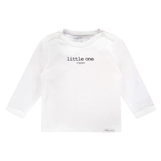 Langarmshirt Little One - Weiß - Gr. 68