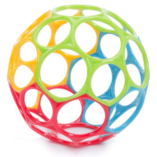 Play and gripping ball 10 cm - Rainbow