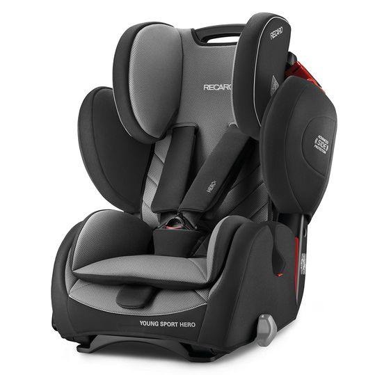 Young Sport Hero child seat - Carbon Black