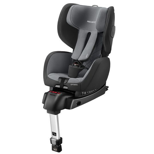 Child seat Optiafix - Carbon Black