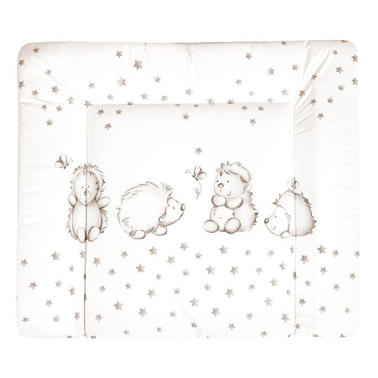 Foil changing mat Softy - Hedgehog - White