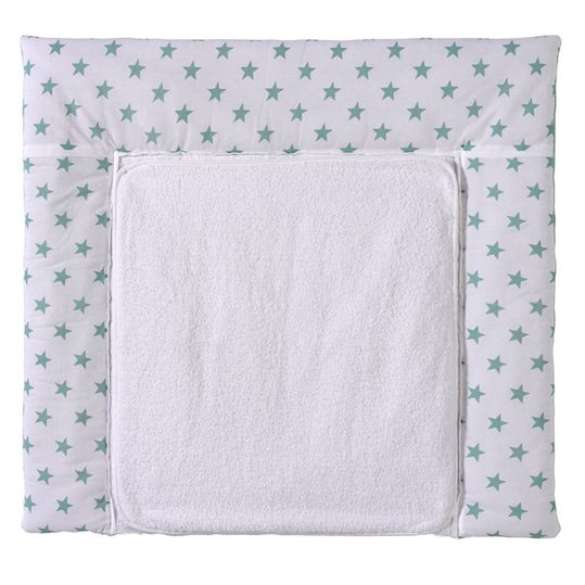Wrap-around pad with terry cloth cover - Big Stars Mint