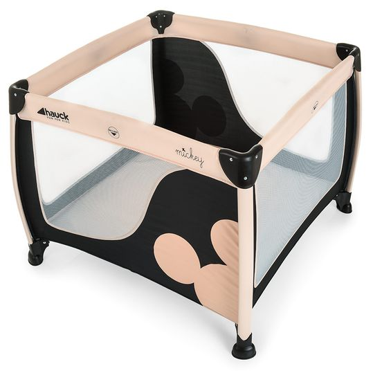 Playpen Play'n Relax SQ - Mickey Mouse Charcoal