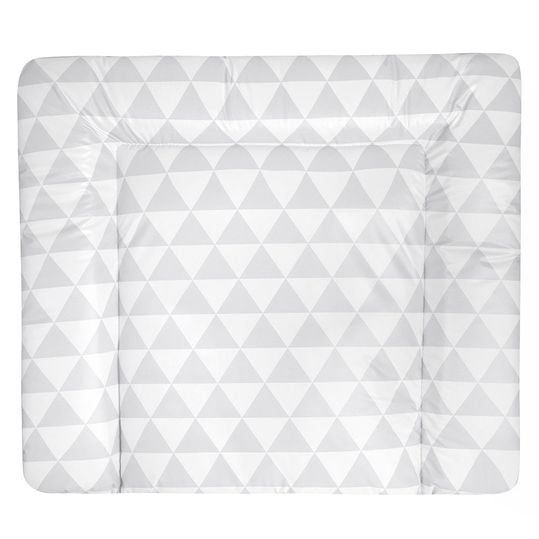 Foil changing mat Softy - Ornament - White Grey