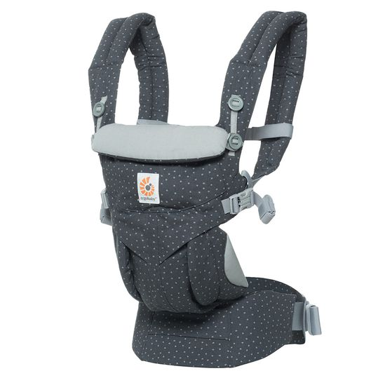 360° Omni baby carrier for 4 carrying positions with lumbar support - Starry Sky