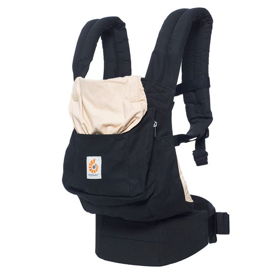 Baby Carrier Original - Black & Camel