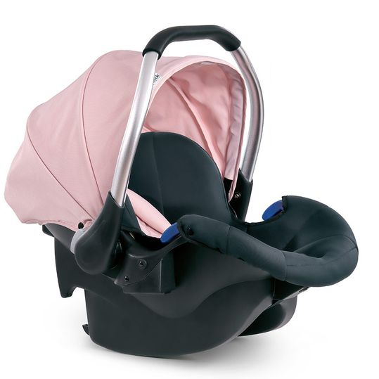 Babyschale Comfort Fix - Pink Grey