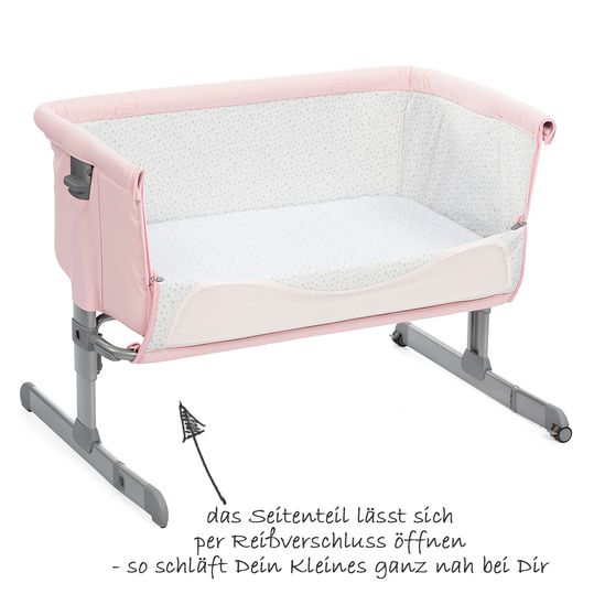Chicco Additional Bed Next 2 Me French Rose Babyartikel De