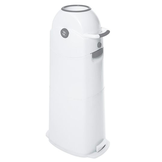 Diaper Bucket Large - Silver