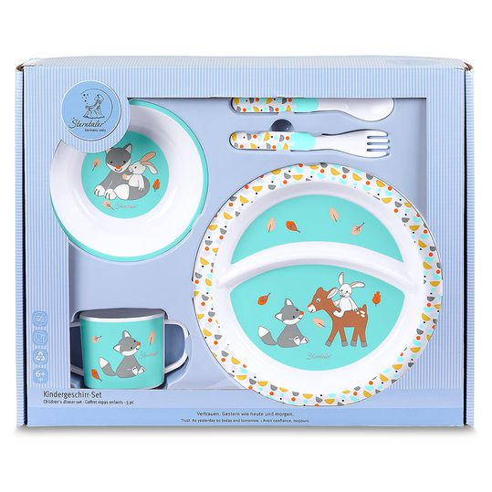 5-piece crockery set Waldis