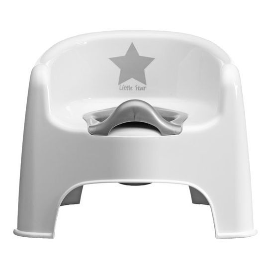 Potty Chair Little Star - White
