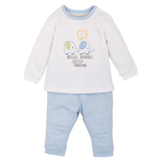 Newborn Set: 2-tlg. - Billy & Bobby - Blau - Gr. 0-3m