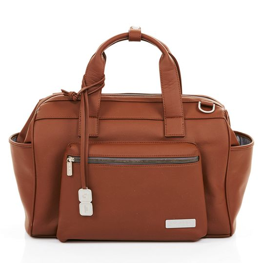 Changing Bag Style - incl. changing mat, bottle warmer and utensil bag - Brown