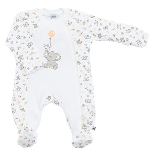 Pajamas 1pcs Elephant Allover - Offwhite - Gr. 56
